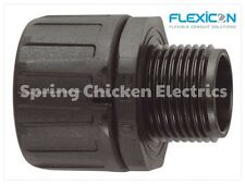 FLEXICON  FLEXIBLE CONDUIT FITTING, 10 PACK - FPA28-M25B