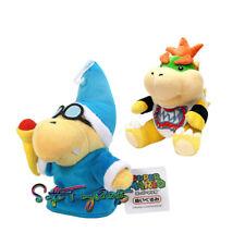 2pcs Super Mario Bros. Magikoopa Kamek Jr. Koopa 7 inch Plush Figure Xmas Toy