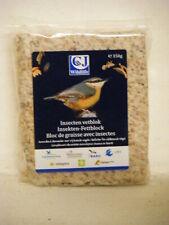 CF Wildlife Fettblock für Gartenvögel mit Insekten, 350g