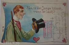 NEE ist der garçon beau quand il rit, LITHO 1901 de Passau (21124)
