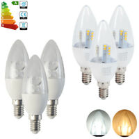 6x E14 Small Edison Screw SES LED Candle Bulbs Spotlight 8W 5W SMD Lamp Dimmable