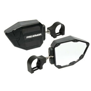 Pro Armor Side View Mirrors Set - Black