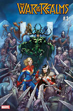 WAR OF REALMS #1 HELA CAPTAIN MARVEL LADY SIF VARIANT CHO NM 1ST PRINT 2019