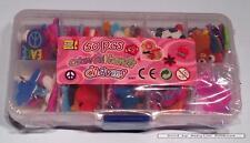 Loom elastiekjes - Loom accessoires: 100 bedeltjes (door BH Creative) 08587