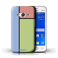 STUFF4 Back Case/Cover/Skin for Samsung Galaxy S Duos 3/G313/Pastel Tiles