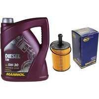 Ölwechsel Set 5L MANNOL Diesel TDI 5W-30 + SCT Ölfilter Service 10164276