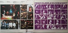 "DEEP PURPLE ""In Concert"" 2LP Vinyl Parfait état"