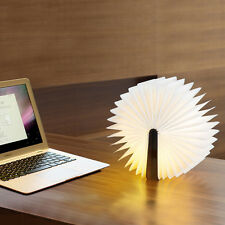 LED Book Folding Reading Lamp Desk Home Decor Light USB Novelty Gifts Crafts DIY