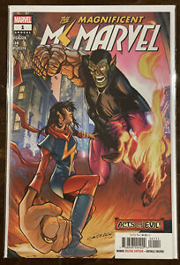 Magnificent Ms Marvel Annual #1 NM 9.4 MARVEL COMICS ACTS OF EVIL