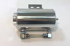 """3"""" x 5"""" Universal Polished Aluminum Overflow Tank with Bracket One Outlet"""