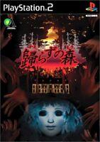 PS2 Kaerazu no Mori Forest Razz PlayStation2 Japan Game Japanese