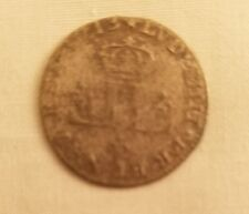 1713 d french colonies 30 deniers colonial billon silver coin