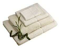 NATURAL LUXURY BAMBOO TOWELS, HAND TOWEL, BATH TOWEL, BATH SHEET ABSORBENT SOFT