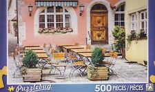 NEW Puzzlebug 500 Piece Jigsaw Puzzle ~ Table and Chairs at a Cafe