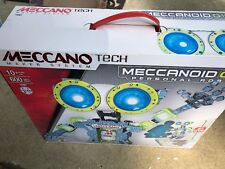Meccano Tech Maker System Meccanoid G15 Personal Robot Large Building Set Sealed