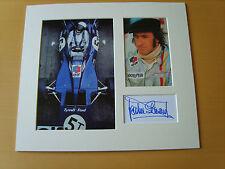 Jackie Stewart Genuine Autograph - UACC / AFTAL.