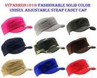 731961e10a6 NYFashion101® Fashionable Solid Color Unisex Adjustable Strap E-Flag® Cadet  Cap