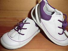 Ecco Biom Lite Infants Speedlace Gr. 23 weiß purple Schuhe Halbschuhe Lauflerner