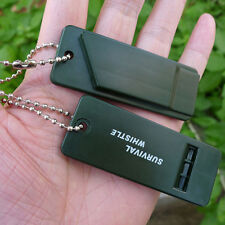 Emergency Survival Whistle Rescue Tool Signal Sound Outdoor Camping Hiking AB