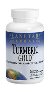 Turmeric Gold 500mg, 60 capsules, Planetary Herbals