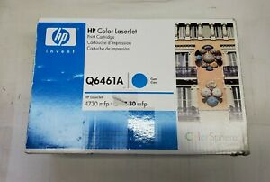 SEALED HP Q6461A 644A Cyan Toner Cartridge LaserJet 4730 MFP Genuine New Box