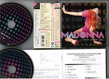 MADONNA Confessions On A Dance Floor JAPAN CD+DVD WPZR-30184~5 w/OBI+BOOKLET