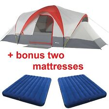 Ozark Trail 8 Person Camping Tent Instant Cabin Family Outdoor Room Easy Setup