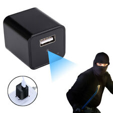 HD 1080P Spy Camera USB Wall Charger Mini Adapter Hidden Camcorder Vedio