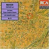 Mahler: Symphony No. 4; Richard Strauss: Burleske (Reiner) (CD 1994)