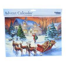 Christmas Countdown Advent Calendar - 24 Windows - 390432 Santa Sleigh
