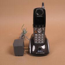 Panasonic KX-TGA551M Cordless Phone Expansion Handset w Charger + New Battery