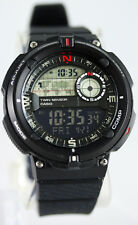 Casio SGW600H-1B Digital Compass Thermometer, Resin Watch, 5 Alarms, World Time