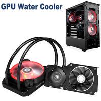 ID-COOLING Frostflow 120VGA GeForce 4Pin GPU Cooling Fan Radiator Water Cooler