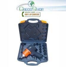 """Avvitatore ad aria compressa/pneumatico/ad impulsi 1/2"""" c/valigetta accessori"""
