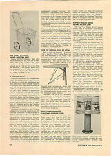 1949 PAPER AD Article Roy Rogers Moving Picture Lamp Pearson Ind Company