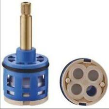 Shower Valve Cartridge 4 Way Panel Ceramic Faucet Brass Handle Replacement Parts