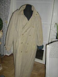 Trenchcoat Staubmantel  Herren beige XL vintage