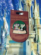 Disney Epcot Food & Wine Festival 2020 Rescuers Pin New