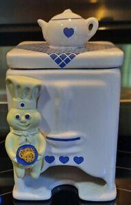 Pillsbury Doughboy vintage Tea Bag Holder Teapot Top