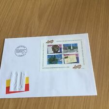 briefmarken , Schweiz , Erstausgabetag , 5.9.90. Prägecover         K5