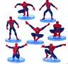 7PCS/Set Spiderman Spider Man PVC Action Figure Toys Gift