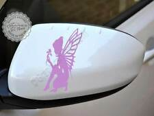 Fairy pixie auto Adesivo, RETROVISORI, PARAURTI, grafica, Girly Adesivi Auto x2