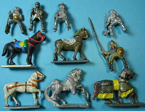Minifigs - Historical - Ancient / Medieval Mounted Knights etc - Pre Slotta