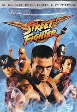 Street Fighter - DVD - Region 2 - Nordic - New and Sealed -2 Disc Deluxe Edition