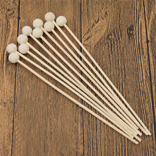 Pack of 10 Reed Fragrance Oil Diffuser Replacement Sticks White Rattan 195x3mm