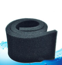 50*12*2 cm Black Biochemical Cotton Filter Foam Sponge Aquarium Fish Tank WI