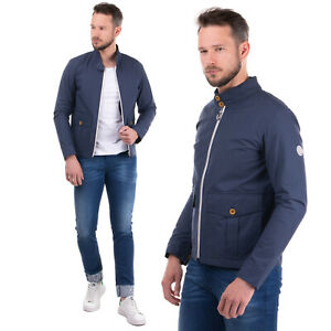 RRP €240 GLOVERALL Jacket Size M Waterproof Full Zip Funnel Neck Made in UK