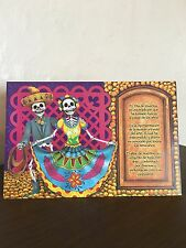 "Day of Dead Gift Card Pop-Up Altar Dia De  Muertos  ""Charro & China"""