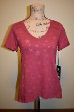 New Rock & Republic Woman's Star T-Shirt, XS, S, or L, Tibetan Red