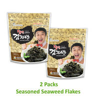 Kimnori Seasoned Seaweed Flakes Sushi Nori Snacks  2.1 oz X 60g - 2 Packs